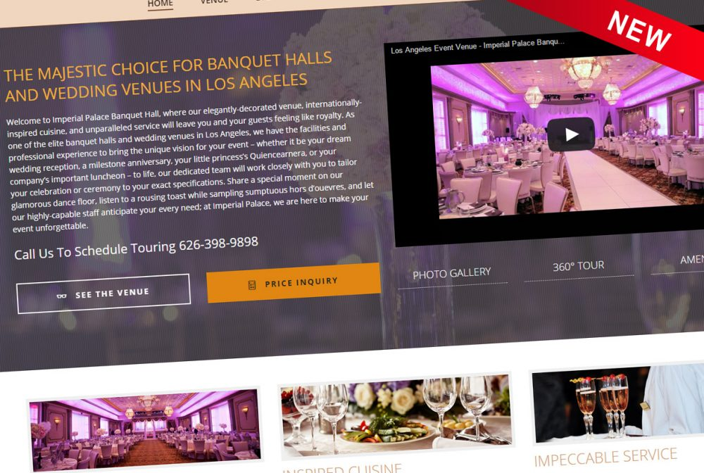 Imperial Palace Banquet Hall New Website