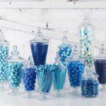 A Wedding Reception Candy Bar