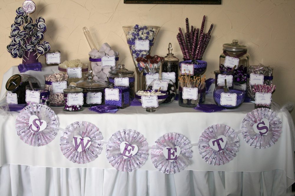 every wedding reception should have a candy bar. Black Bedroom Furniture Sets. Home Design Ideas