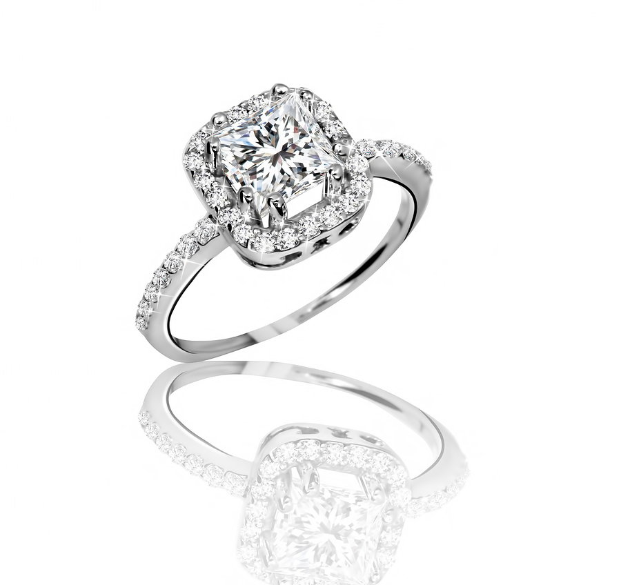 Buying an Engagement Ring With Pave Stones - Imperial Venue