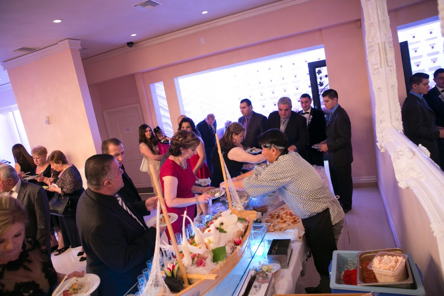 Sushi Bar Catering - Imperial Banquet Hall