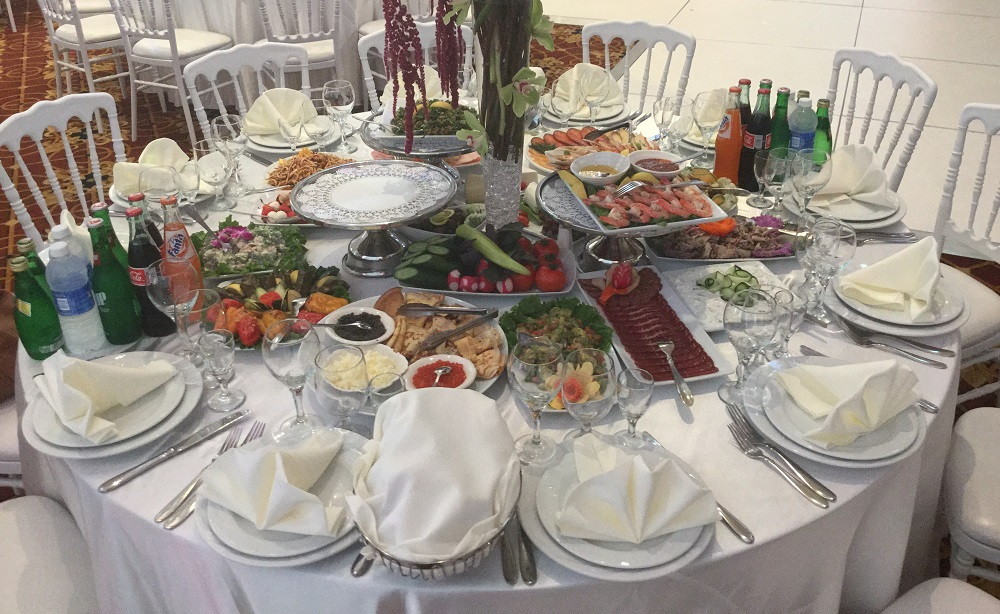 Catering at Imperial Venue in Los Angeles
