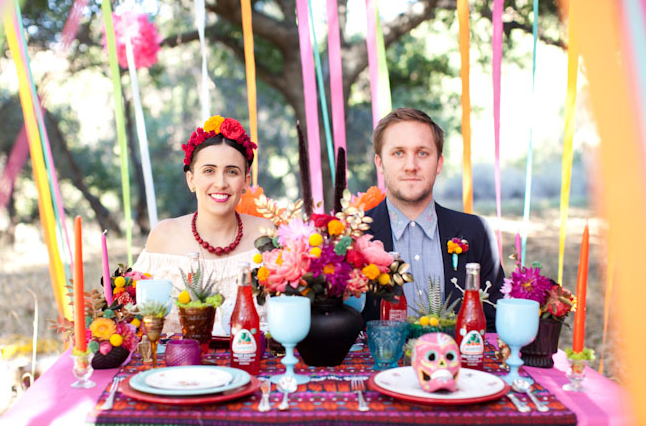 Beautiful Dia de los Muertos Wedding Inspiration - Free Gallery