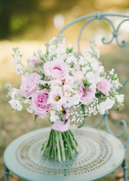 Wedding Flowers - Bouquet With Lisianthus