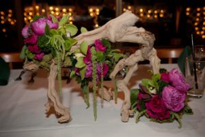 Sprawling Flowers - Wedding Table Centerpiece