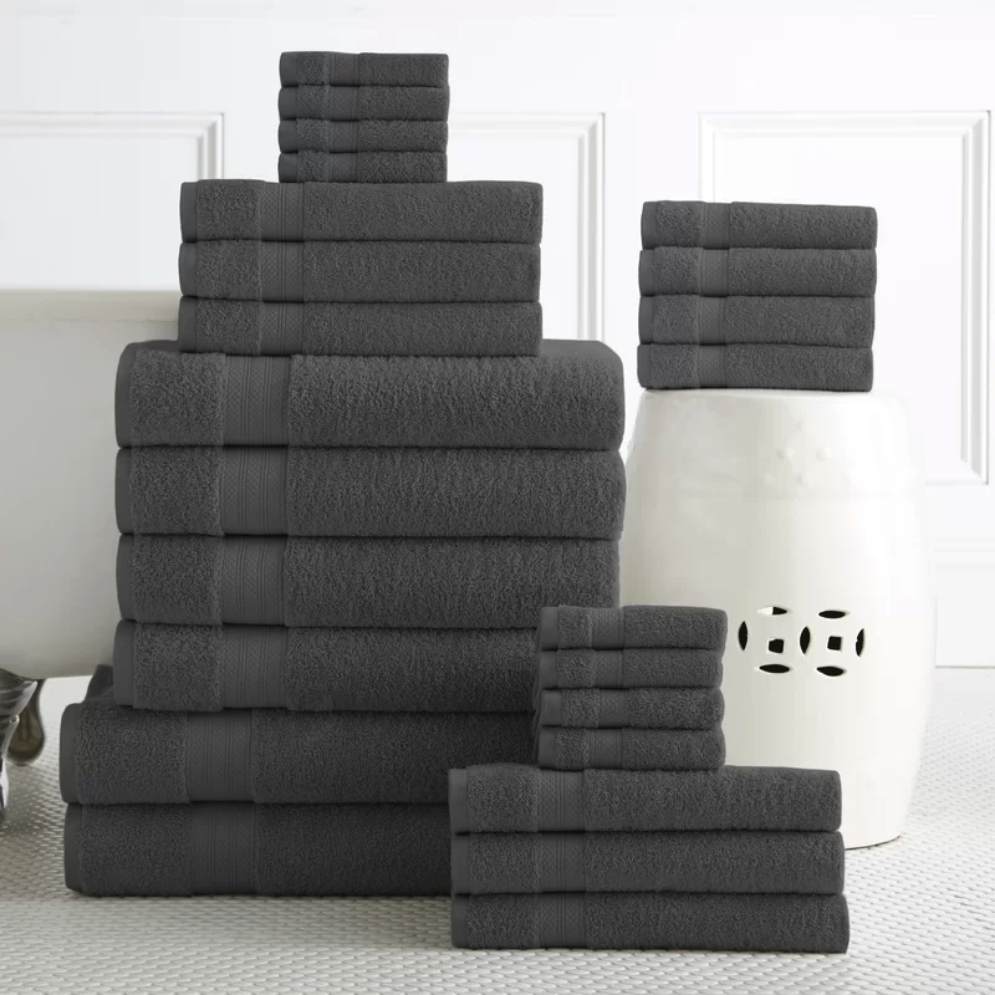 towel set - wedding registry ideas