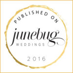 Junebug Weddings Publication Badge