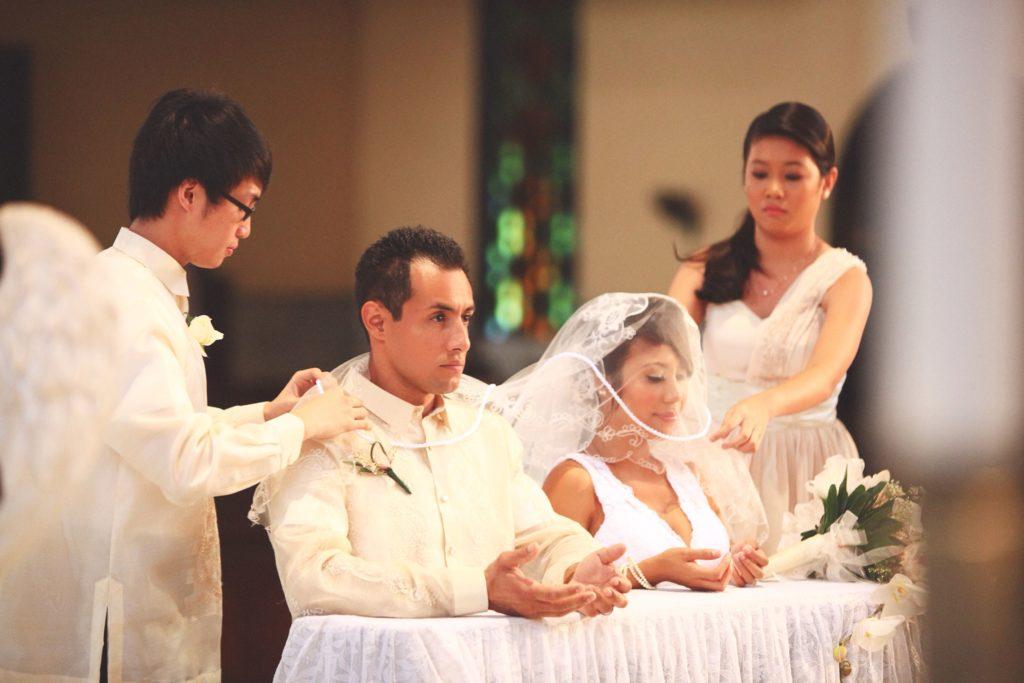 filipino catholic veil and cord ceremony