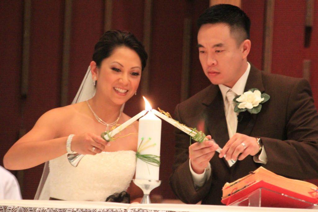 filipino catholic wedding candle ceremony