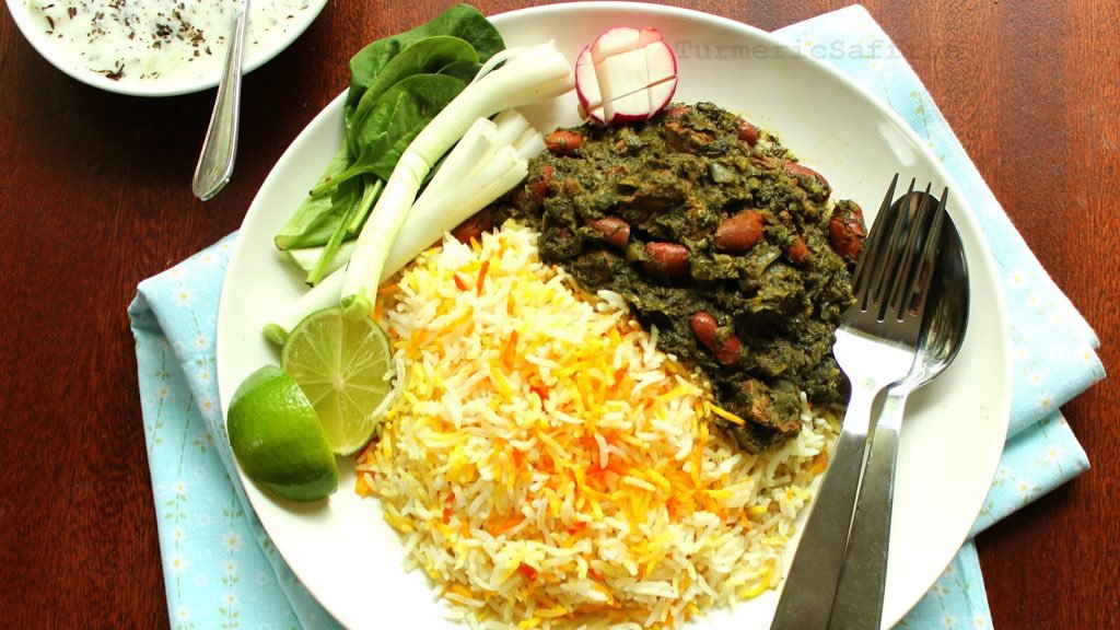 ghormeh sabzi at persian weddings