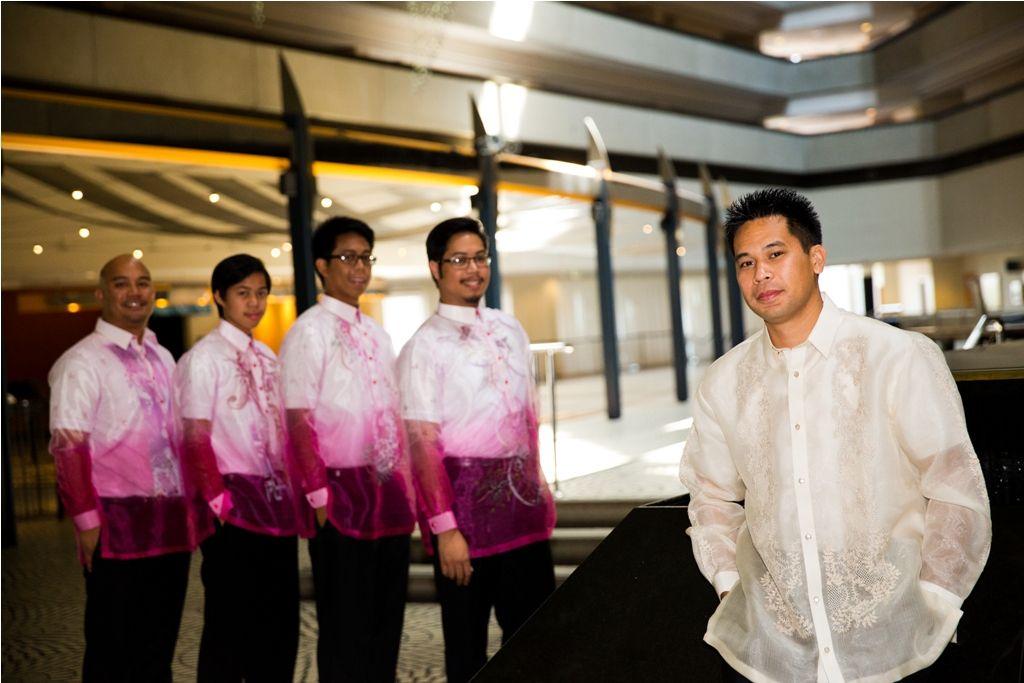 traditional filipino groom shirt barong