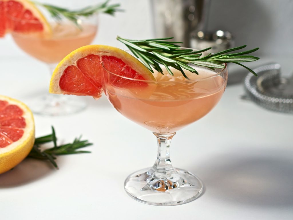 Wedding Signature Drinks - Blushing Kiss Martini