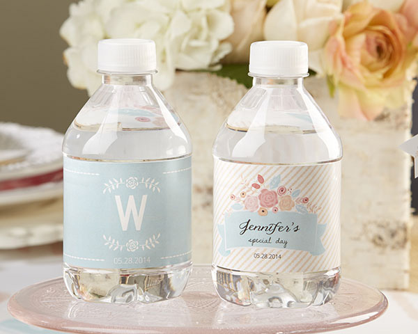 Wedding Day Emergency Kit - Personalized Bridal Water Battles
