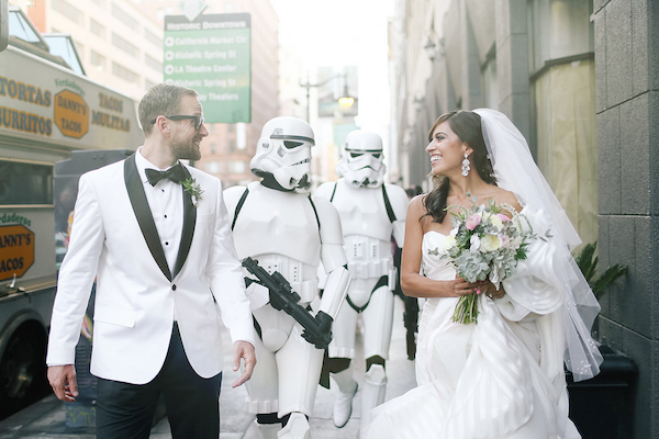 Wedding Themes - Star Wars Storm Trooper Groomsmen
