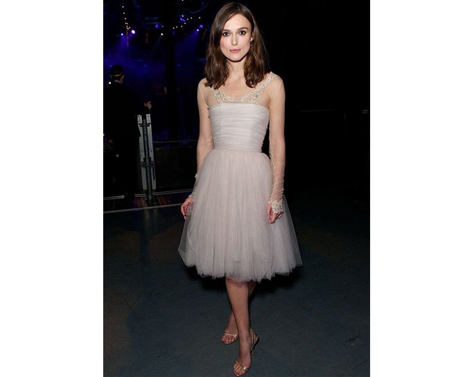 Non White Wedding Dresses - Keira Knightley Chanel Wedding Dress