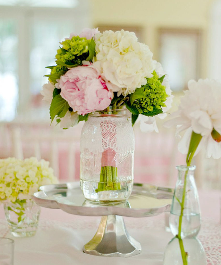 Wedding Hacks - Bridal Bouquets As Centerpieces